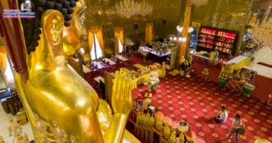 พระพุทธเมตตาประทานพร 1 เดียวในโลก !!! วัดไผ่ล้อม จังหวัดนครปฐม #ภาพมุมสูงเที่ยวทั่วไทย